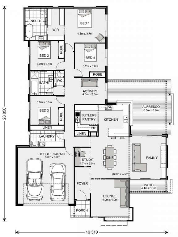 Parkview Floorplan