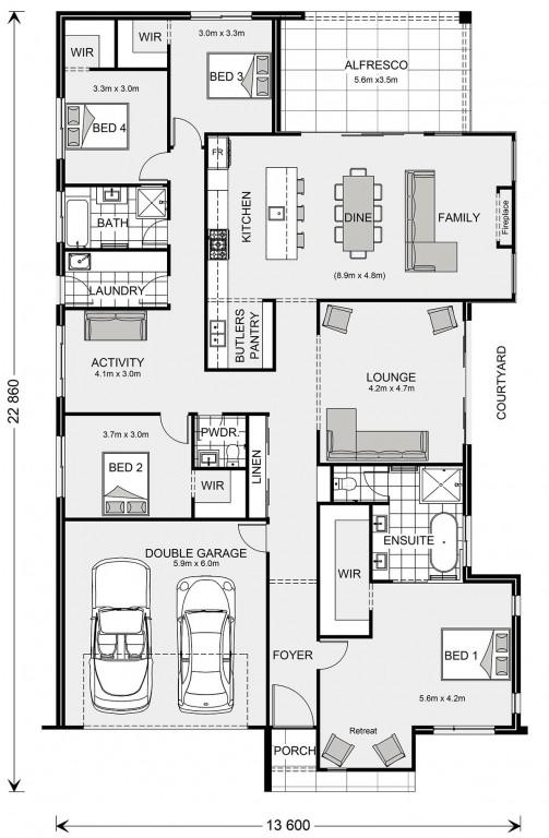 Long Island 280 Floorplan