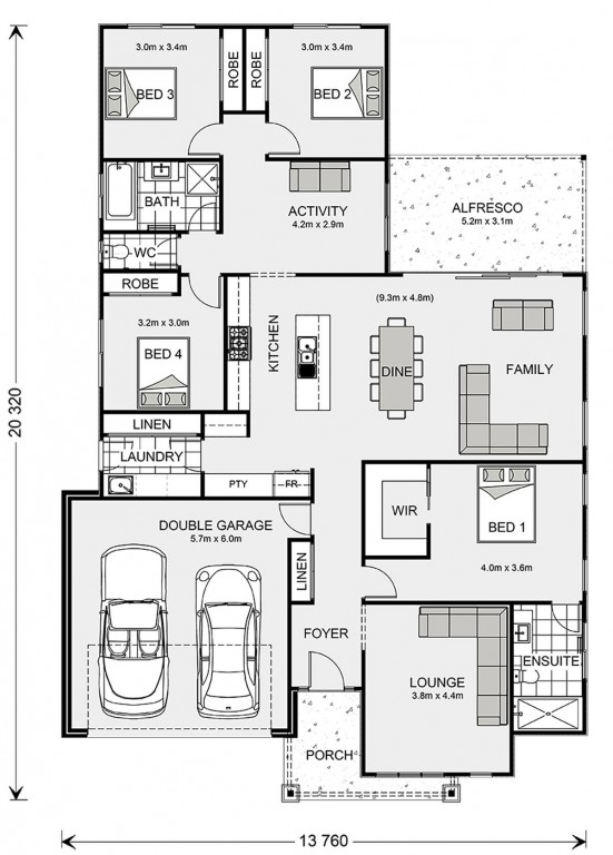Vista 236 Floorplan