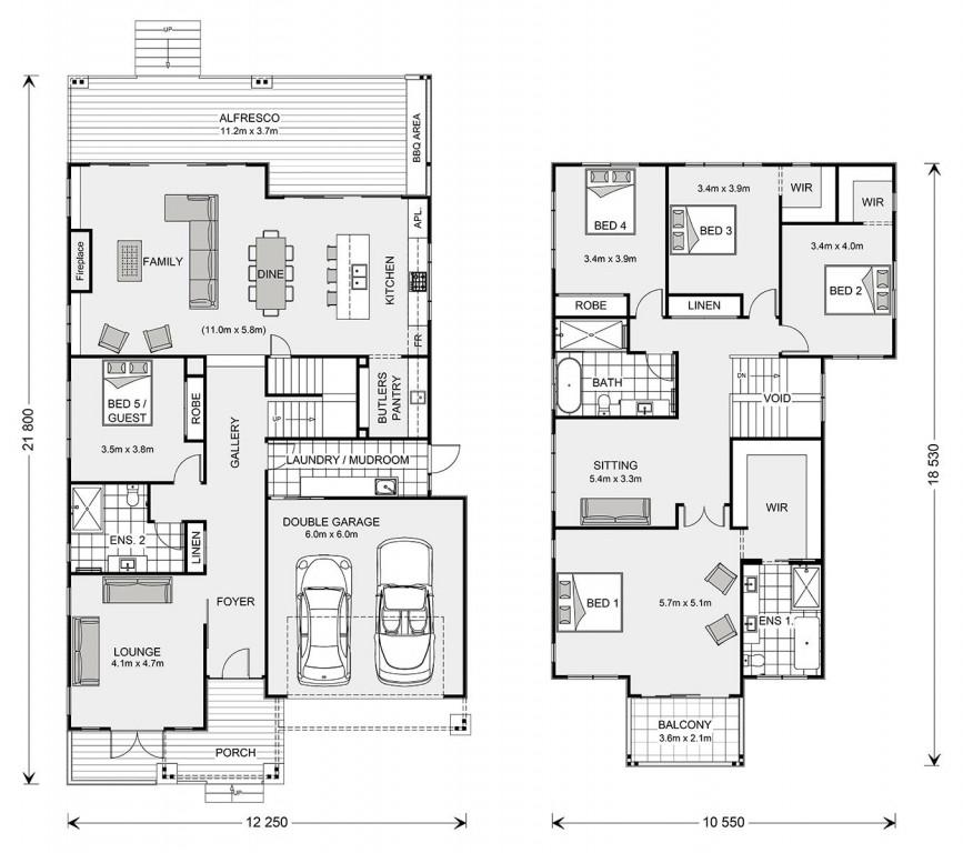 Freshwater 393 Floorplan