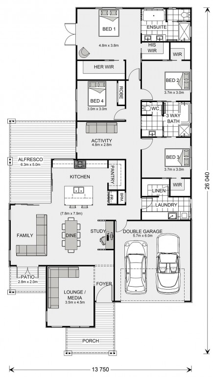 Parkview 278 Floorplan