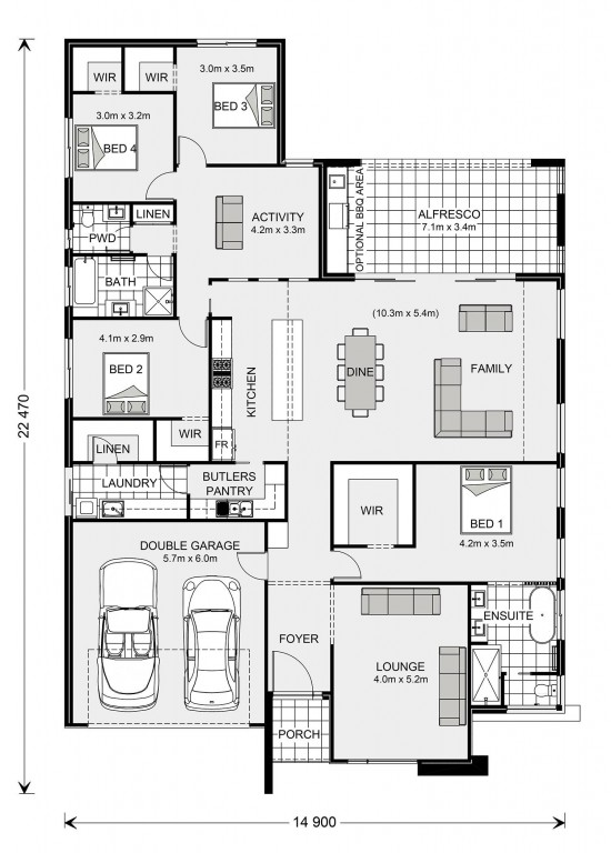 Vista (Albury Display) Floorplan