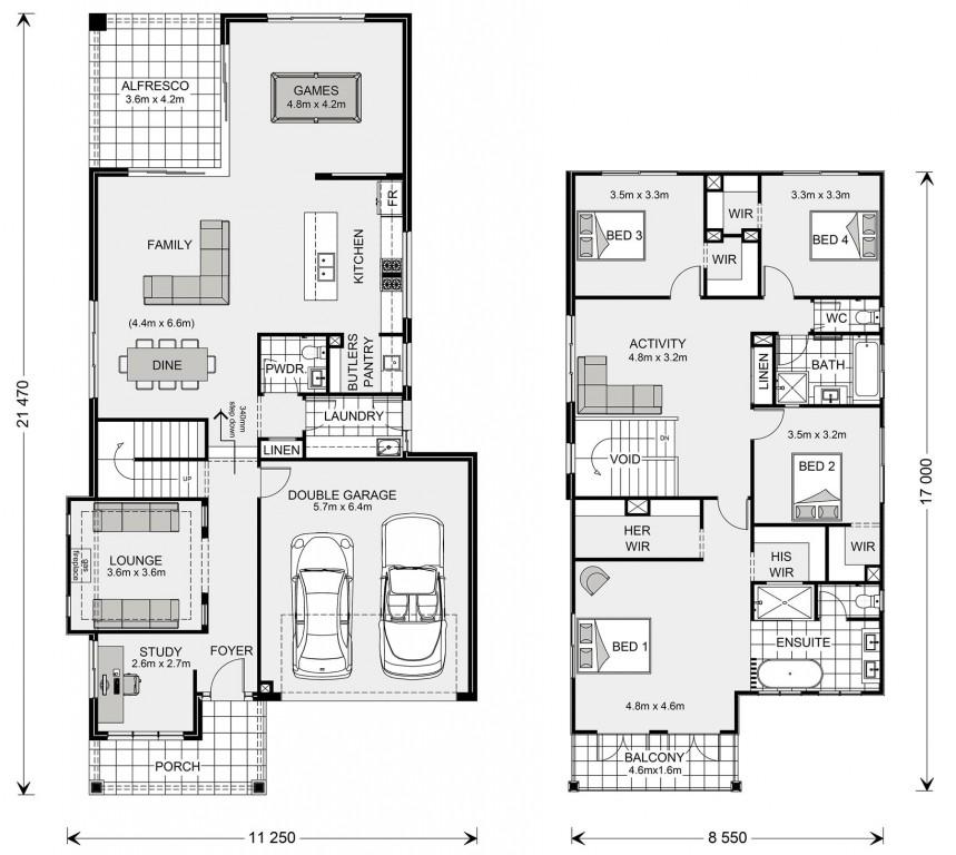 Elwood Floorplan
