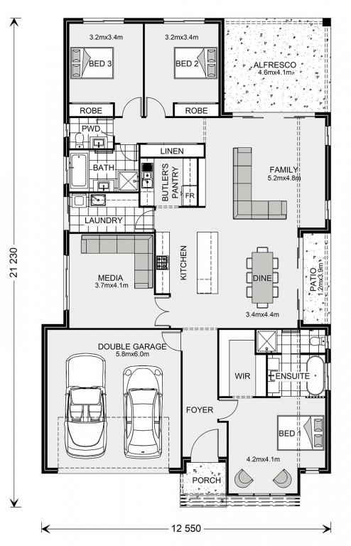 Benowa 240 Floorplan