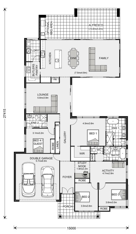 Stillwater Floorplan