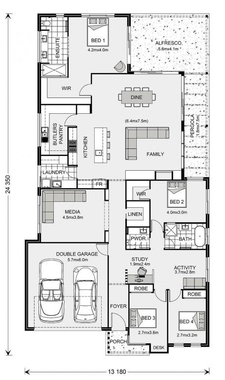 Edgewater 294 Floorplan