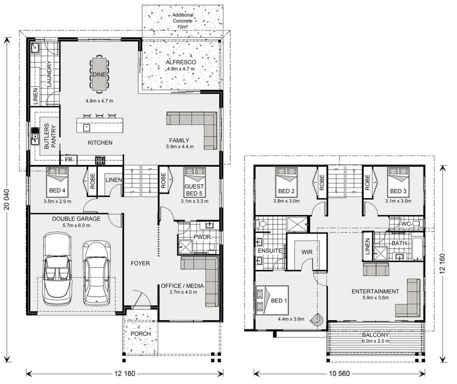 Seaview Floorplan