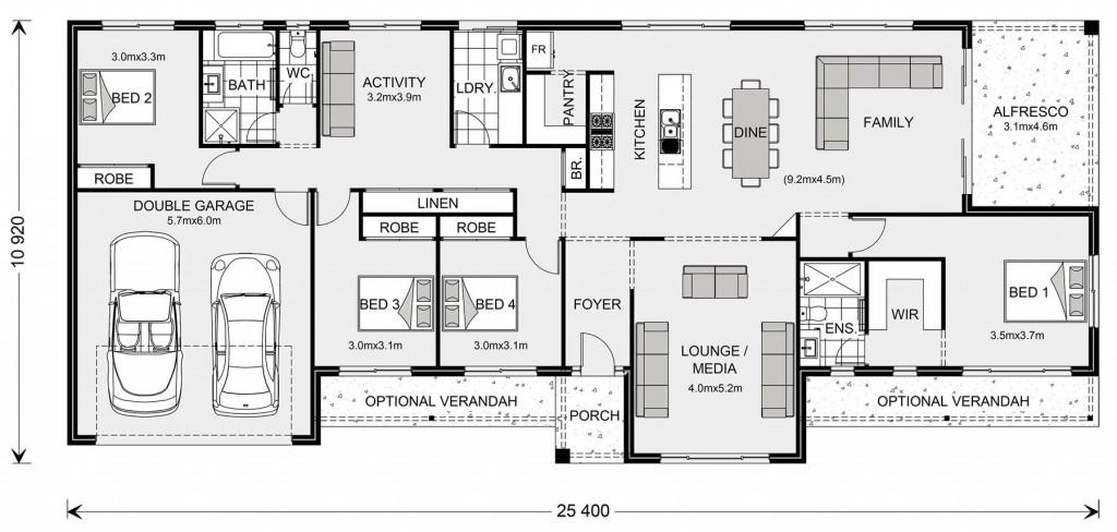 Longreach 247 Floorplan