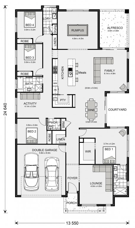 Sunbury Floorplan