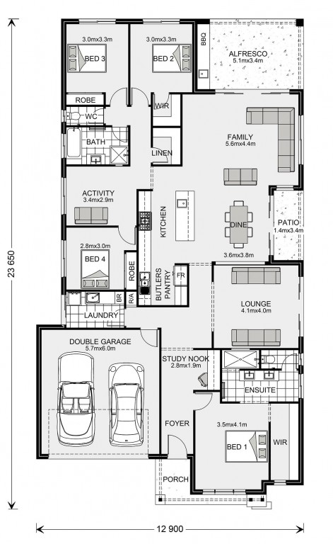 Portside 270 Floorplan
