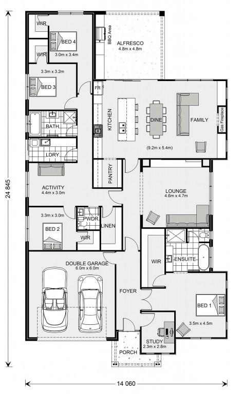 Long Bay 302 Floorplan