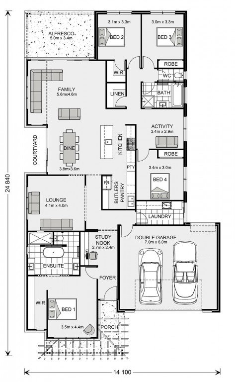 Portside 284 Floorplan