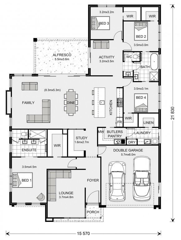 Fernbank 284 Floorplan