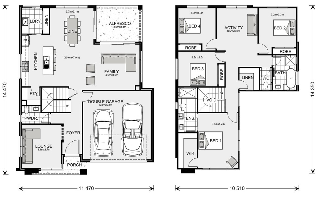 Kingston Floorplan