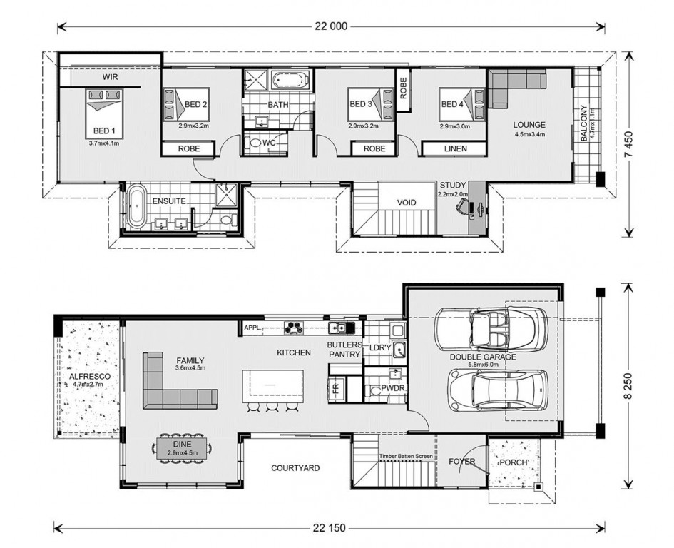 Nelson Bay 264 Floorplan