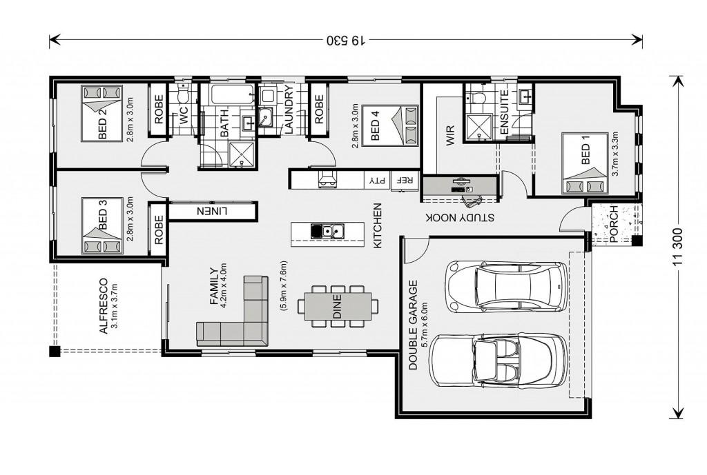 Woodridge 187 Floorplan