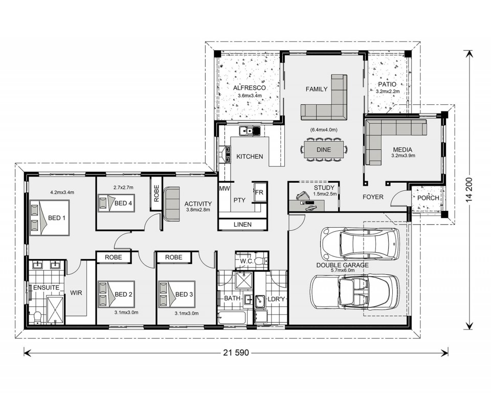 Parkview 240 Floorplan
