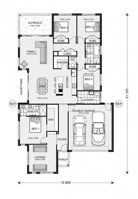 Blackwood 220 Floorplan