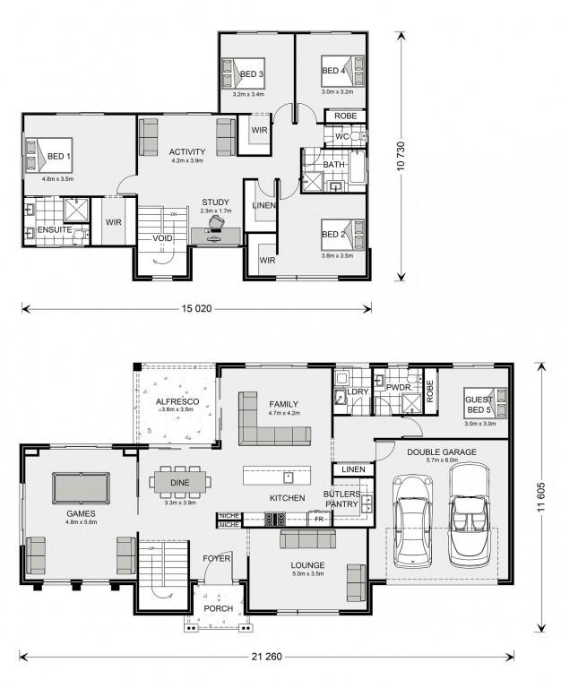 Greenbay 322 Floorplan