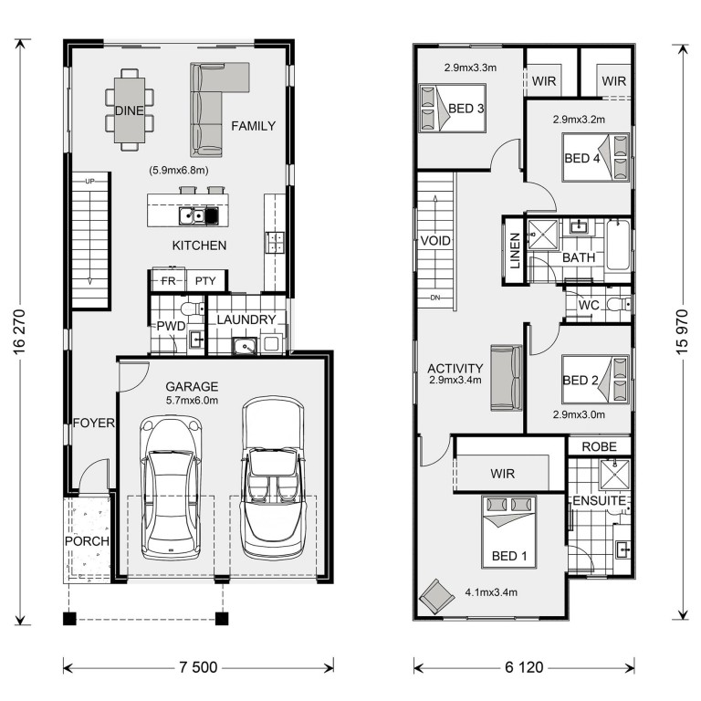 Carlton 200 Floorplan