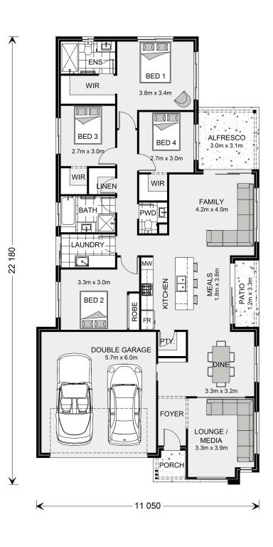Oceanside 212 Floorplan