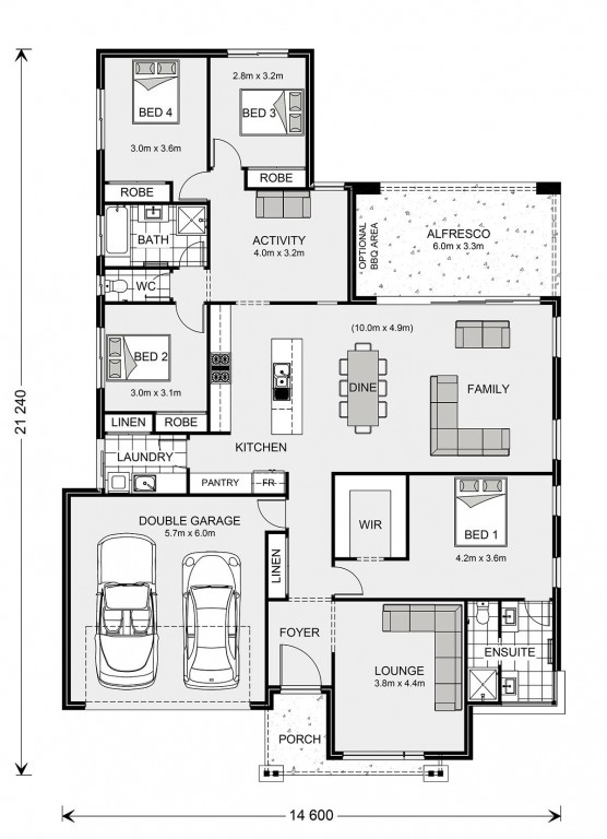 Vista 252 Floorplan