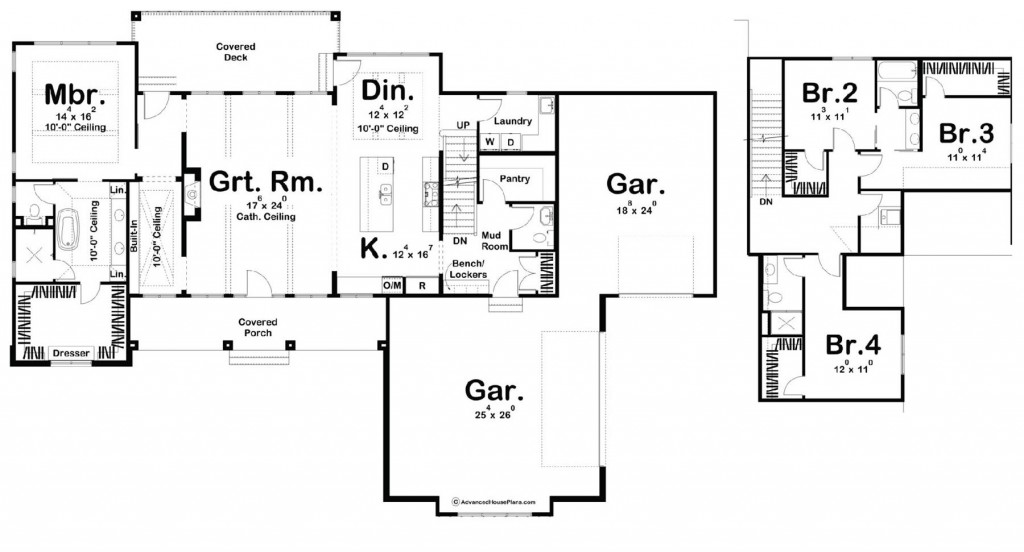 Keegan 2736 Floorplan