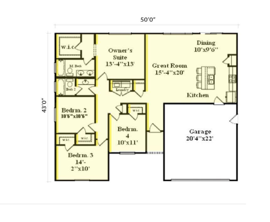 Express 1548 Floorplan