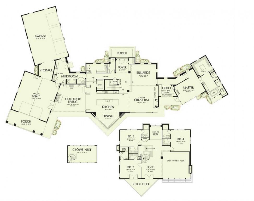 Courtyard 5070 Floorplan