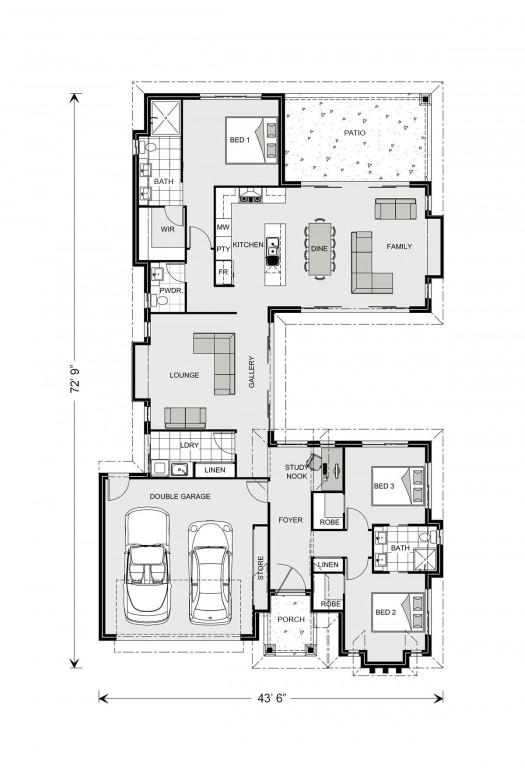 Mandalay 1703 Floorplan