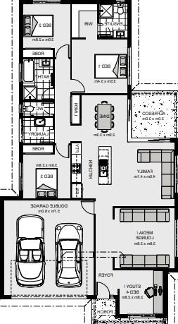 Bedarra 187 Floorplan