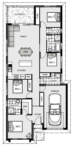 Calderwood 153 Floorplan