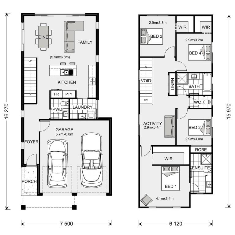 Carlton 200 Floorplan