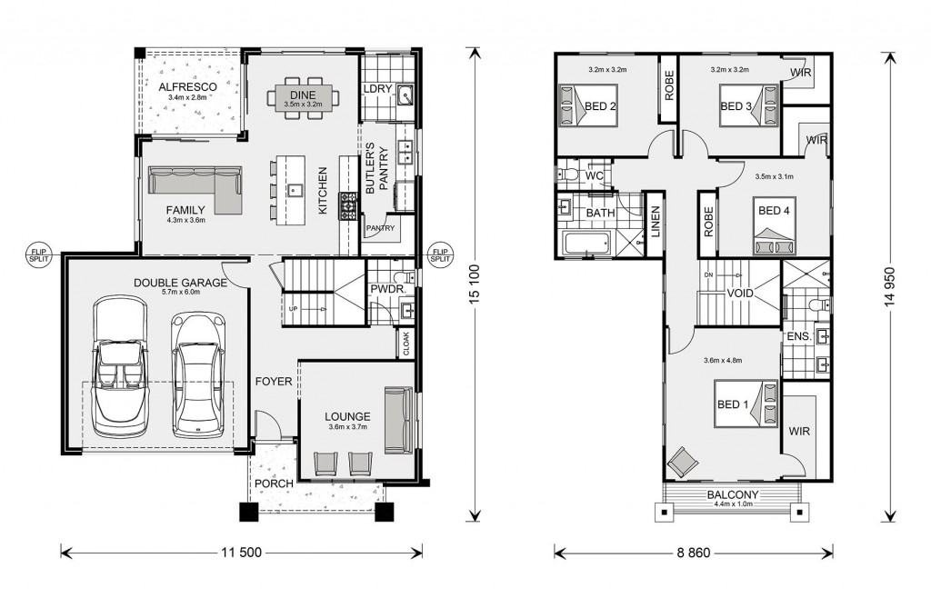 Kingston 245 Floorplan