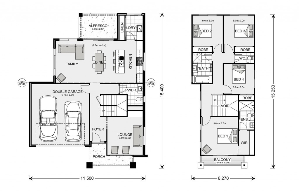 Kingston 225 Floorplan