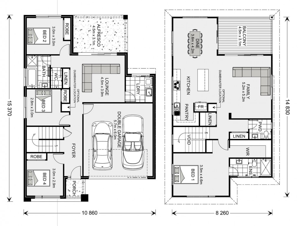 Sorrento 261 Floorplan