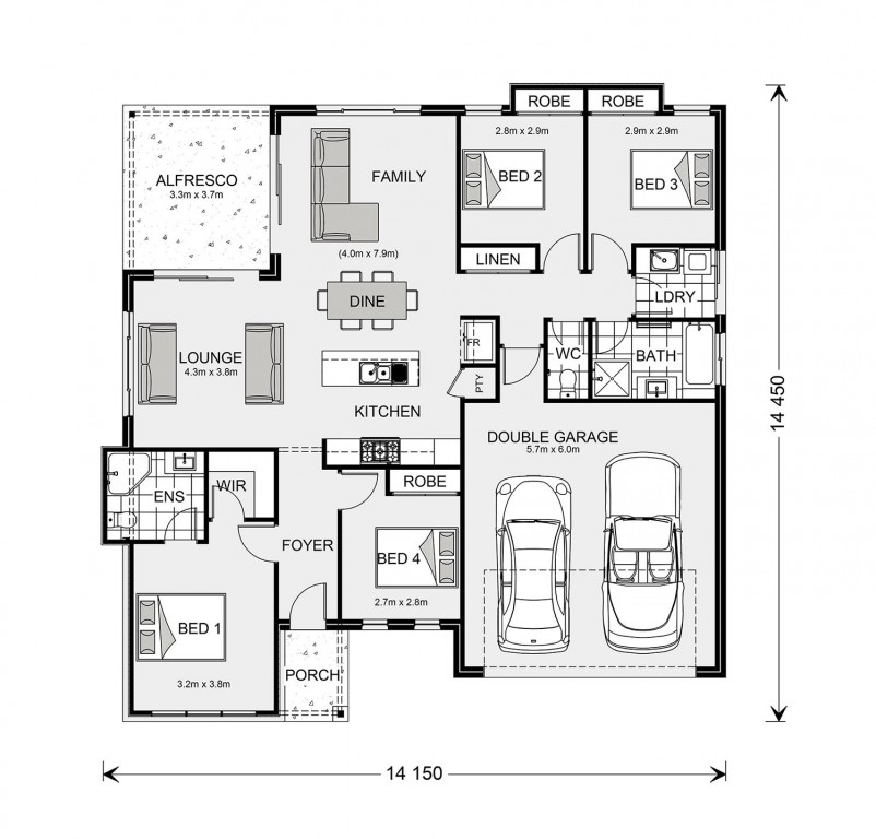Wide Bay 183 Floorplan