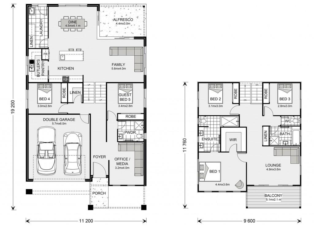 Seaview 297 Split Floorplan