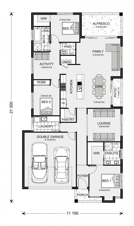 Portside 211 Floorplan