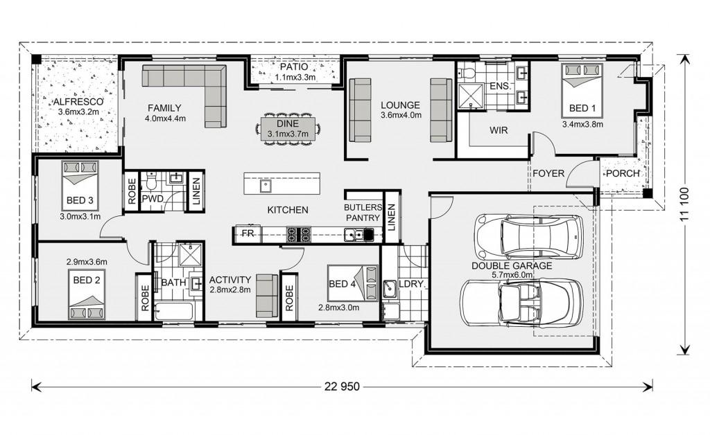 Portside 229 Floorplan