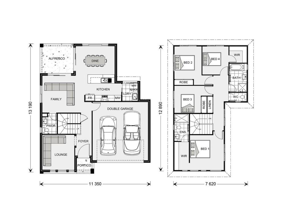 Blue Water 211 Floorplan