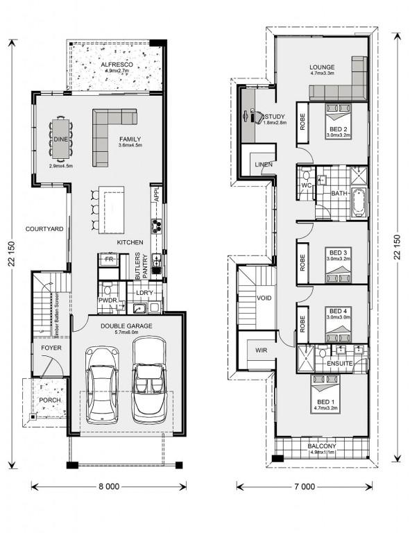 Nelson Bay 264 B1F Floorplan