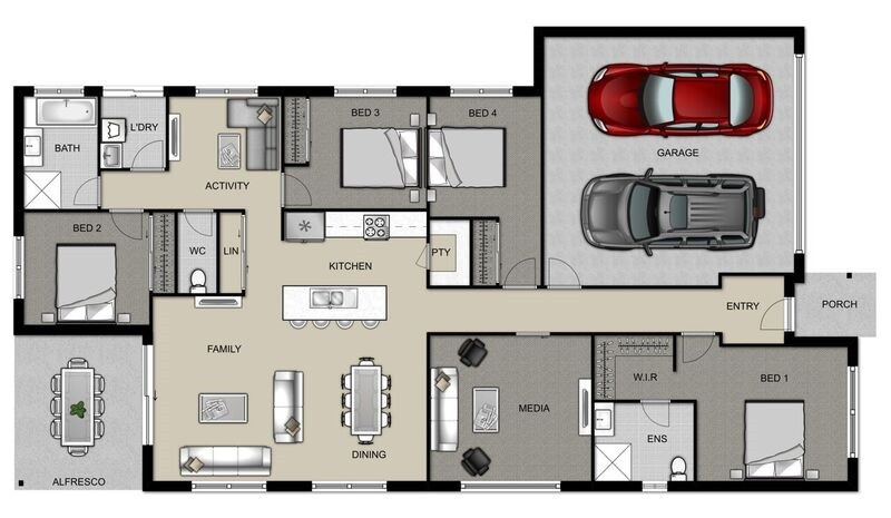 Bridgewater 205 Floorplan
