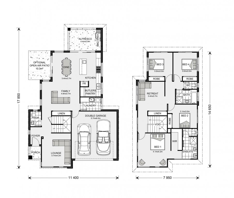 Bayview 250 Floorplan