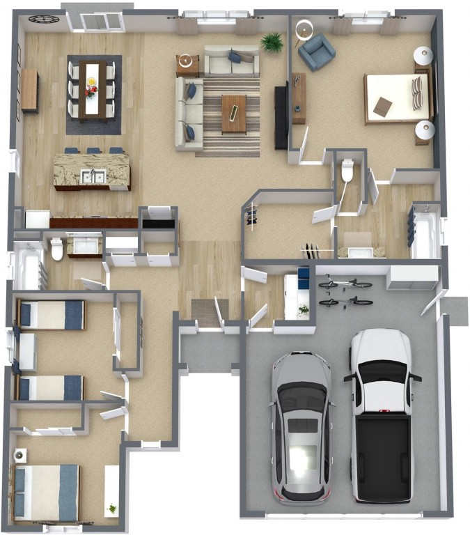 Woodward 1600 Floorplan