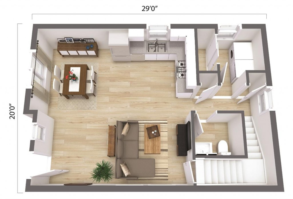 The Huntington Beach 1148 Floorplan