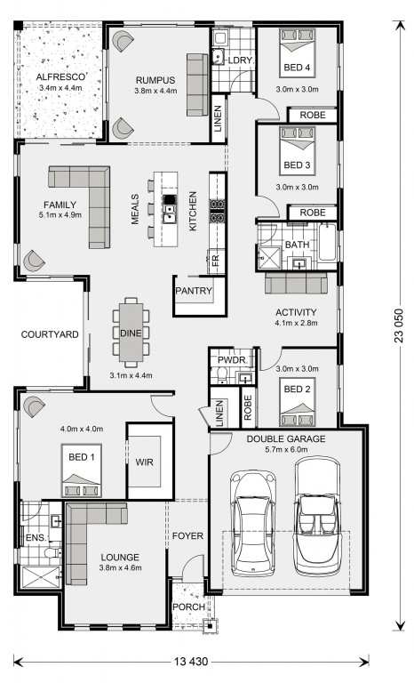 Sunbury 275 Floorplan