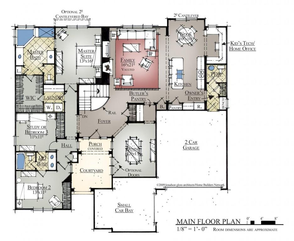 Between 2,500 Floorplan