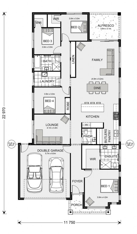 Fairhaven 235 Floorplan
