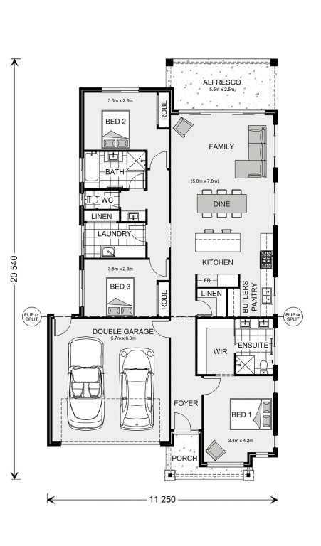 Fairhaven 195 Floorplan